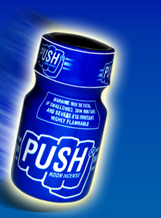 PUSH Poppers - purchase now at Poppers-Shop.com